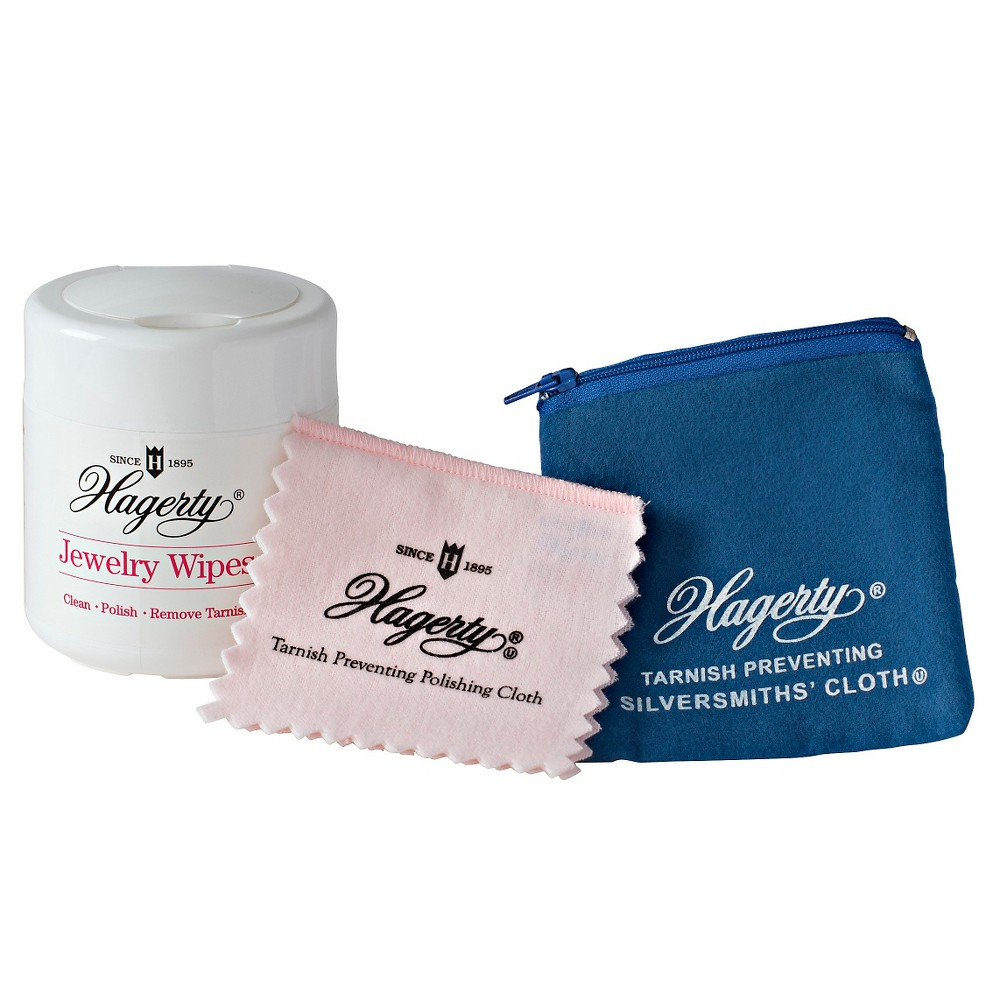 Image of Hagerty Wipe and Store Jewelry Care Collection, Adult Unisex, Gold/Silver