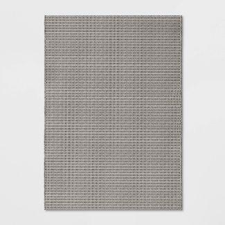 5' x 7' Resort Weave Outdoor Rug Gray  - Project 62™