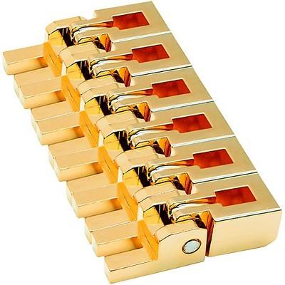 Floyd Rose FR Special Bridge Saddles (Set) Gold