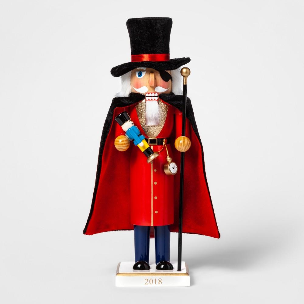 Decorative Figurine Nutcracker with Cape - Wondershop, Multi-Colored