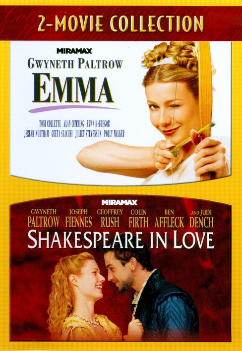 Emma/Shakespeare in love (DVD) - image 1 of 1