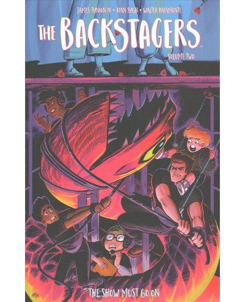 Backstagers 2 : The Show Must Go on -  (Backstagers) by IV James Tynion (Paperback) - image 1 of 1