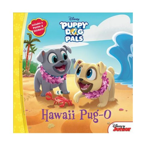 Puppy Dog Pals Hawaii Pug-O - by  Michael Olson (Paperback) - image 1 of 1