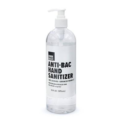 Born Basic Anti-Bac Hand Sanitizer - 33 fl oz