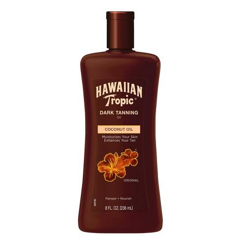 Hawaiian Tropic Dark Tanning Oil - 8 oz - image 1 of 2