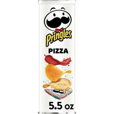 Pringles Pizza Flavored Potato Crisps Chips - 5.5oz