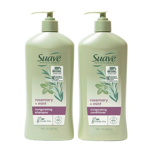 Sauve Professionals Invigorating Shampoo and Conditioner for Dry and Damaged Hair Rosemary and Mint 18 fl oz/2ct - image 1 of 4