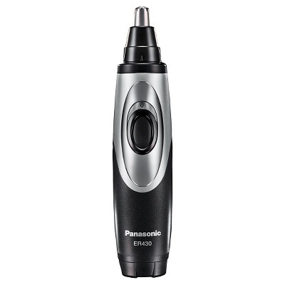 Panasonic Nose/Ear Hair Wet/Dry Electric Trimmer with Micro Vacuum System - ER430K