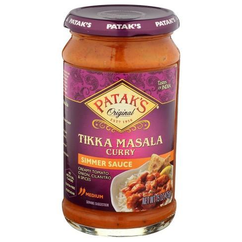 Patak's Tikka Masala Curry Simmer Sauce 15oz - image 1 of 3