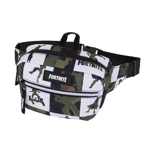 Fortnite Multiplier Waist Sling Pack - Camo/White Check - image 1 of 4