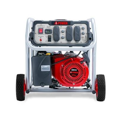 5000 Watt Gasoline Powered Portable Generator Manual Start - A-iPower