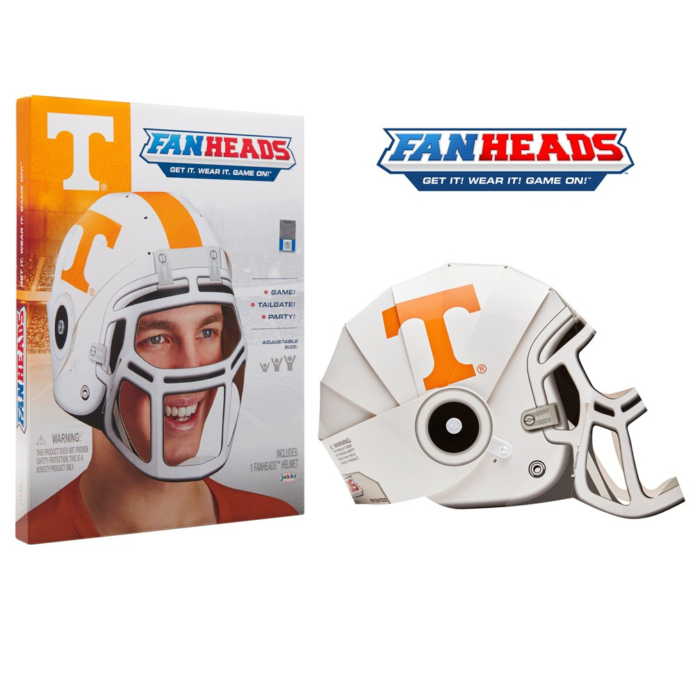 NCAA Tennessee Volunteers Fan Head, Adult Unisex