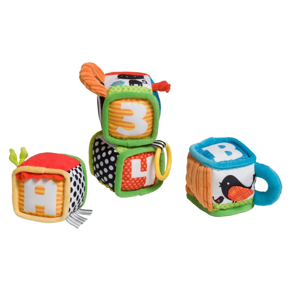 Image of Infantino Discover and Play Soft Blocks