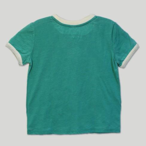 15ccab40d4bcc9 Toddler Girls  Care Bears Good Luck Bear Short Sleeve T-Shirt - Green 18M    Target