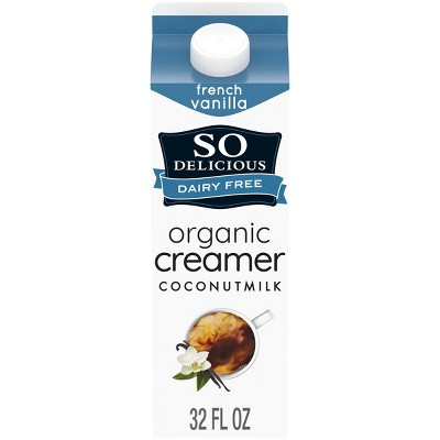 So Delicious Dairy-Free French Vanilla CoconutMilk Creamer - 1qt
