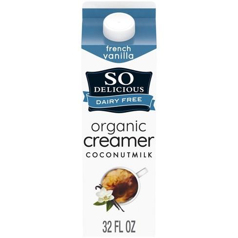 So Delicious Dairy Free Organic French Vanilla Coconut Milk Creamer - 1qt - image 1 of 4