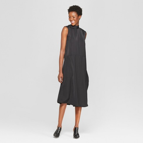 Women's Tie Back Neck Column Midi Dress - Who What Wear™ - image 1 of 4