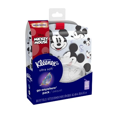 Kleenex Ultra Soft Disney Go Anywhere Facial Tissue - 30ct