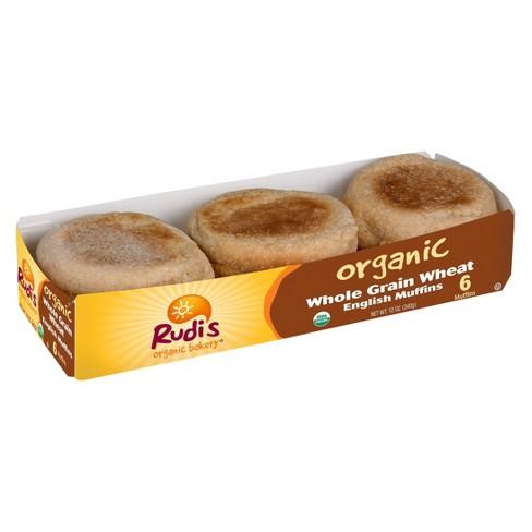 Rudi's Organic Whole Grain Wheat English Muffins - 12oz - image 1 of 1