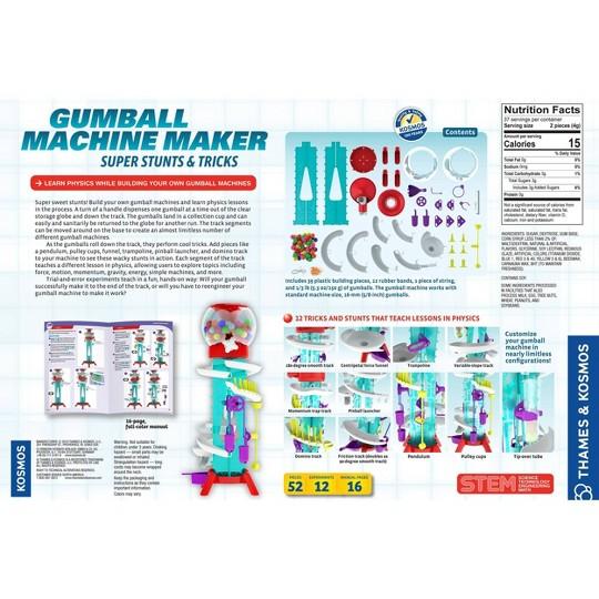 Thames & Kosmos Gumball Machine Maker: Super Stunts & Tricks image number null