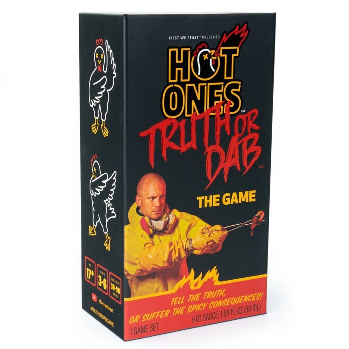 Hot Ones Truth Or Dab The Game : Target