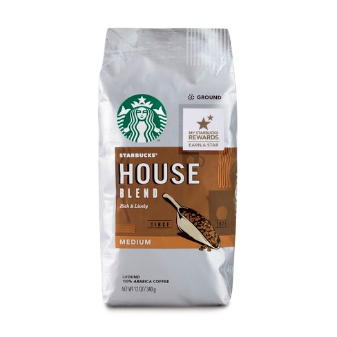 Starbucks House Blend Medium Roast Ground Coffee - 12oz - image 1 of 3