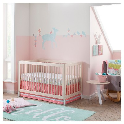 Crib Mobile Forest Frolic Cloud Island Pink
