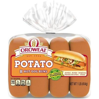 Oroweat Potato Hot Doh Buns - 15oz