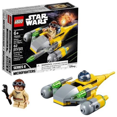 LEGO Star Wars Naboo Starfighter Microfighter 75223 - image 1 of 7