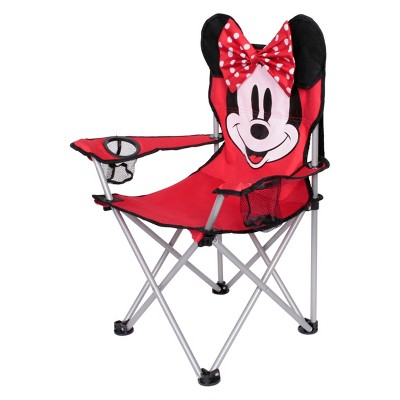 Evergreen Kids Minnie Mouse Camp Chair   Red : Target