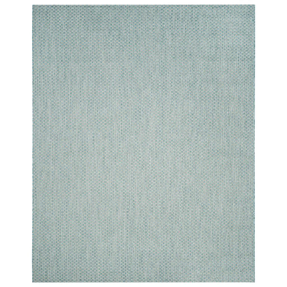 Tabatha Indoor/Outdoor Rug - Light Blue / Light Gray (Light Blue/Light Gray) - 9' X 12' - Safavieh