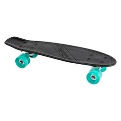 "Kryptonics 22.5"" Torpedo Skateboard - Black, Kids Unisex, Black Blue Gray"