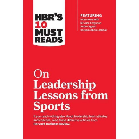 Hbr's 10 Must Reads on Leadership Lessons from Sports (Featuring Interviews with Sir Alex Ferguson, - image 1 of 1