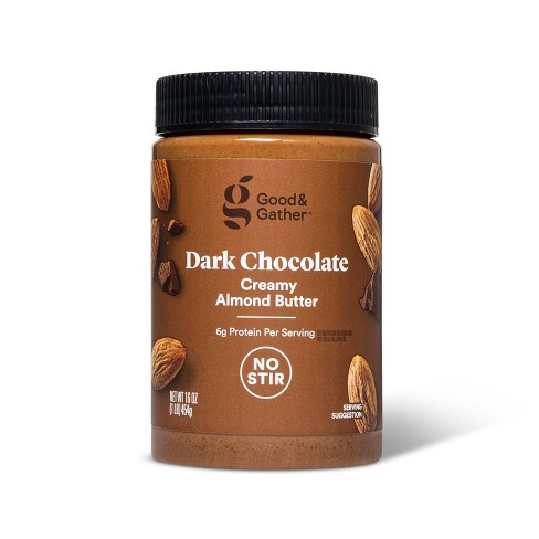 Dark Chocolate Almond Butter 16oz - Good & Gather™ - image 1 of 2