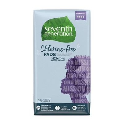 Maxi Pads: Seventh Generation Free & Clear