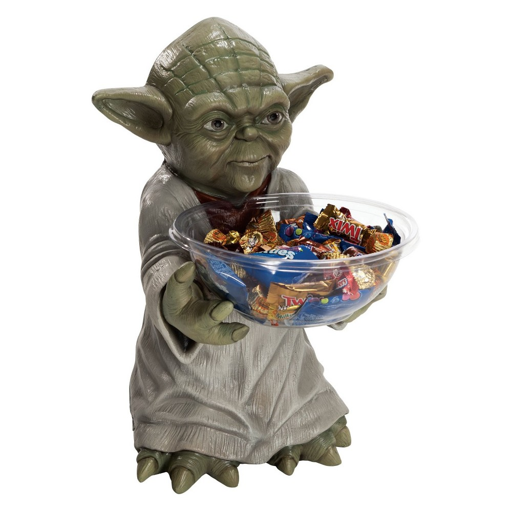 Image of Star Wars - Yoda Candy Bowl and Holder, Multi-Colored
