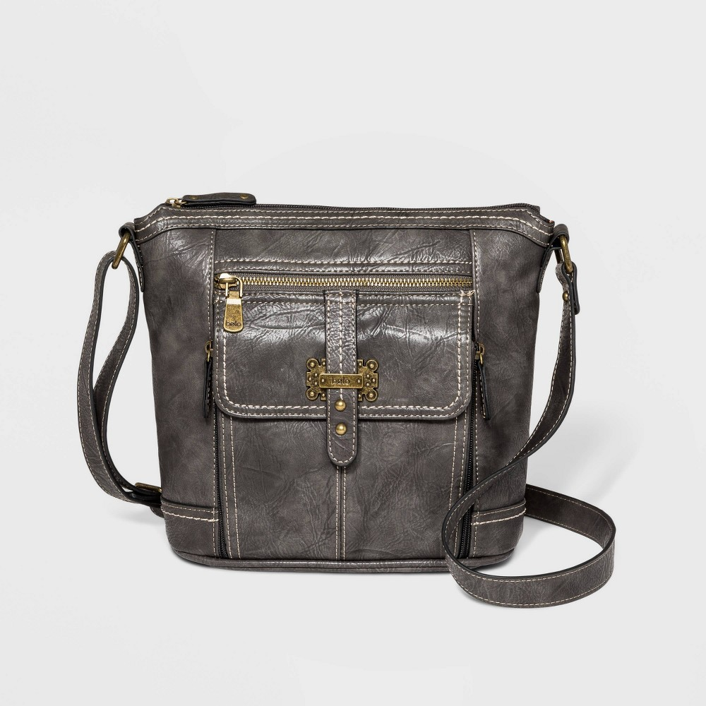 Image of Bolo Claridge Crossbody Bag - Gray, Women's, Black
