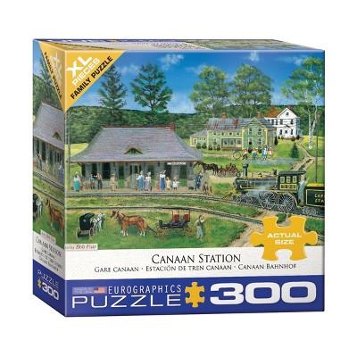 EuroGraphics Bob Fair Cannan Station XL Jigsaw Puzzle - 300pc