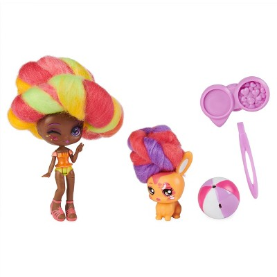 Candylocks Doll + Pet - Margo Punch & Bridget Bunny