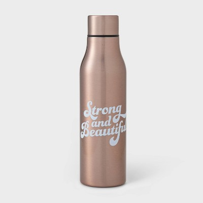 20oz Double Wall Stainless Steel Vacuum Water Bottle - Room Essentials™