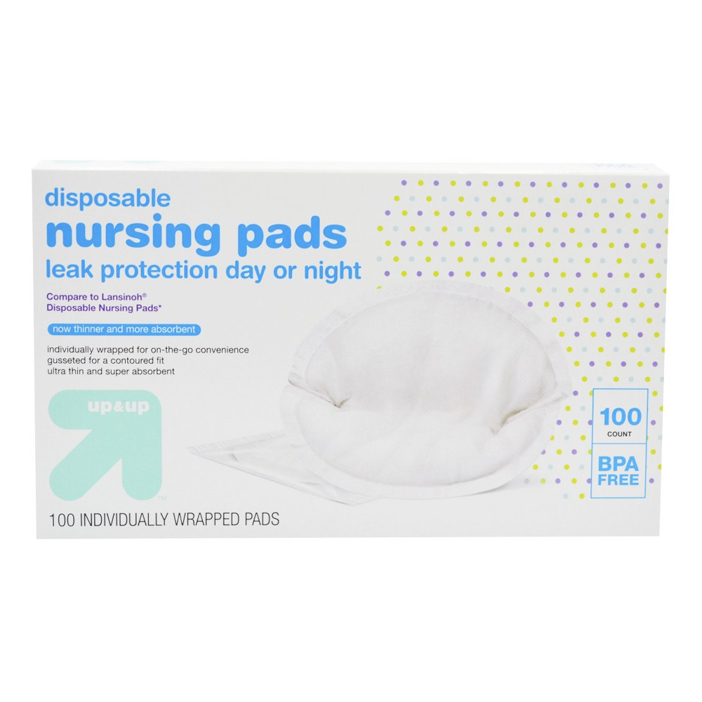 Image of Disposable Breast Pads - 100ct - Up&Up , Clear