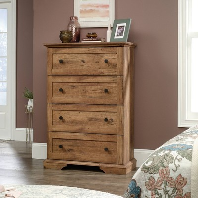 4 Drawer New Grange Chest Vintage Oak - Sauder