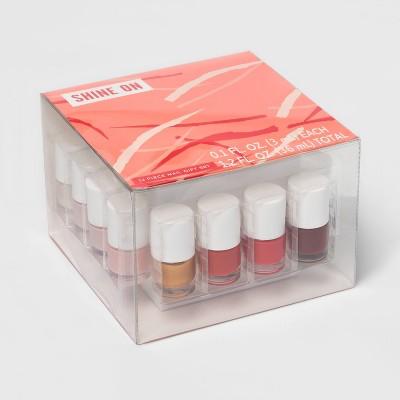 Nail Color Vault - 12pc/1.2 fl oz - Target Beauty™