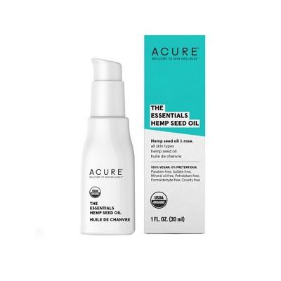 Acure The Essentials Hemp Seed Oil - 1 fl oz