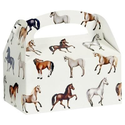 8 ct Ponies Favor Boxes