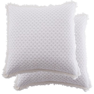 Pippa Floral Quilted Euro Sham - 2pk - Levtex Home
