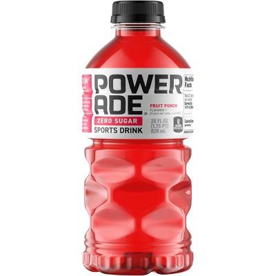 POWERADE Zero Fruit Punch Sports Drink - 28 fl oz Bottle