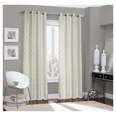 Webber Blackout Curtain Ivory (52 x84 )- Eclipse™