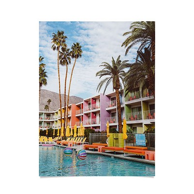 """Bethany Young Photography Palm Springs Pool Day VII Poster- 18"""" x 24"""" - Society6"""