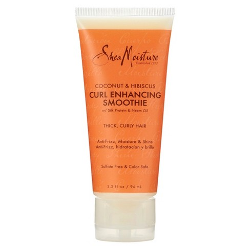 SheaMoisture Coconut & Hibiscus Curl Enhancing Smoothie - 3.2 fl oz - image 1 of 1